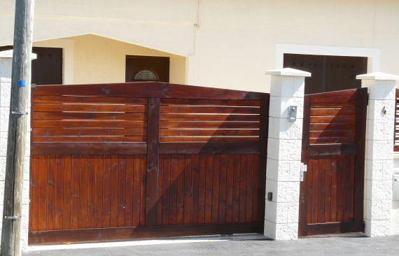 Portail, portillon et clôture bois