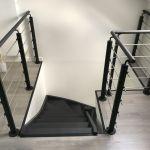 Escaliers, garde corps et rampe